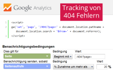 Analytics 404 Tracking & Monitoring